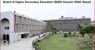 Board of Higher Secondary Education (BISE) Karachi HSSC Result