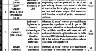 Oil & Gas Development Company Limited(OGDCL) Jobs 18th October 2020