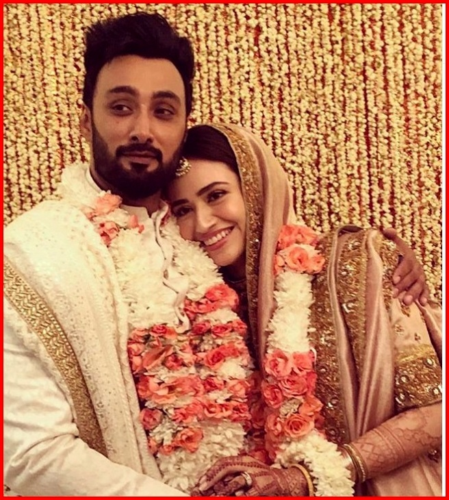 Umair Jaswal and Sana Javed Nikah ceremony Pictures
