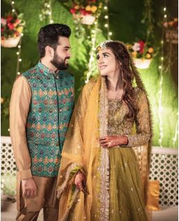 Actress Rabab Hashim Marriage Pictures
