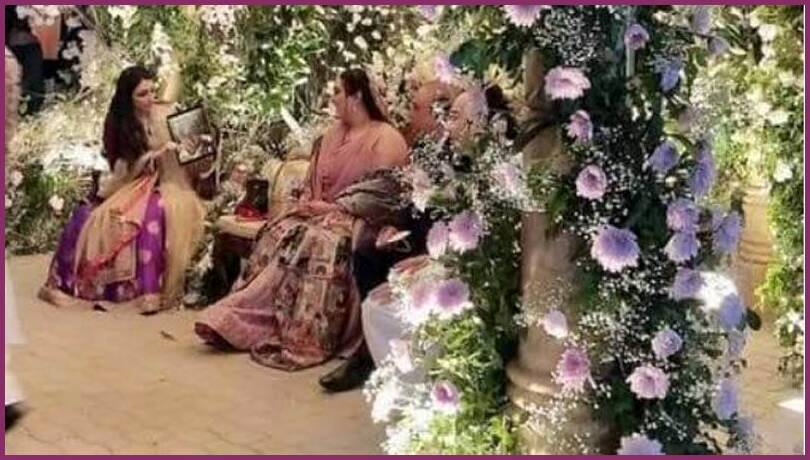 Bakhtawar Bhutto Zardari's engagement Photos