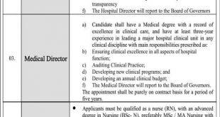 Pakistan Institute Of Medical Sciences(PIMS) Jobs 20th June 2021