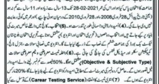 Cadet College Noshki Admission 2021