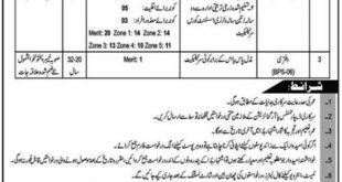 DIRECTORATE GENERAL (EXTENSION) LIVESTOCK & DAIRY DEVELOPMENT KPK PESHAWAR JOBS