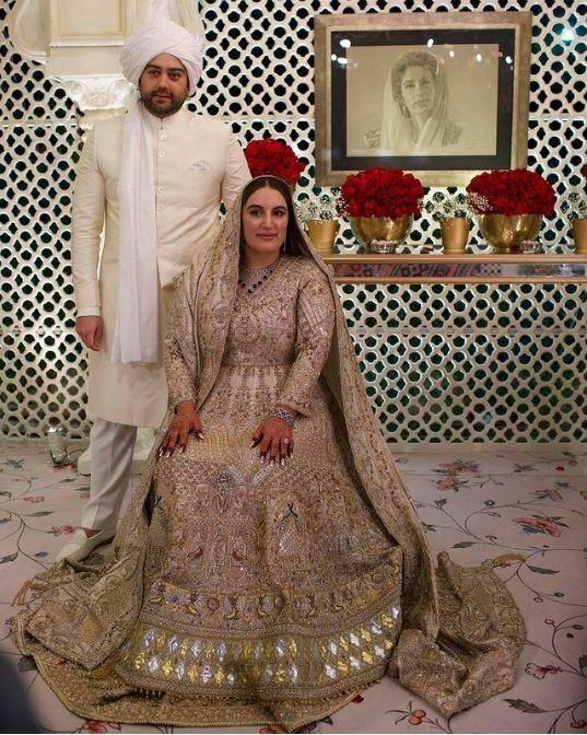 Bakhtawar Bhutto Zardari's Marriage Pictures
