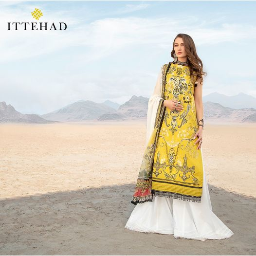 ITTEHAD Spring/Summer 21 collection