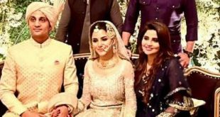 Actress Sohai Ali Abro got Married to Cricketer Shehzar Mohammad