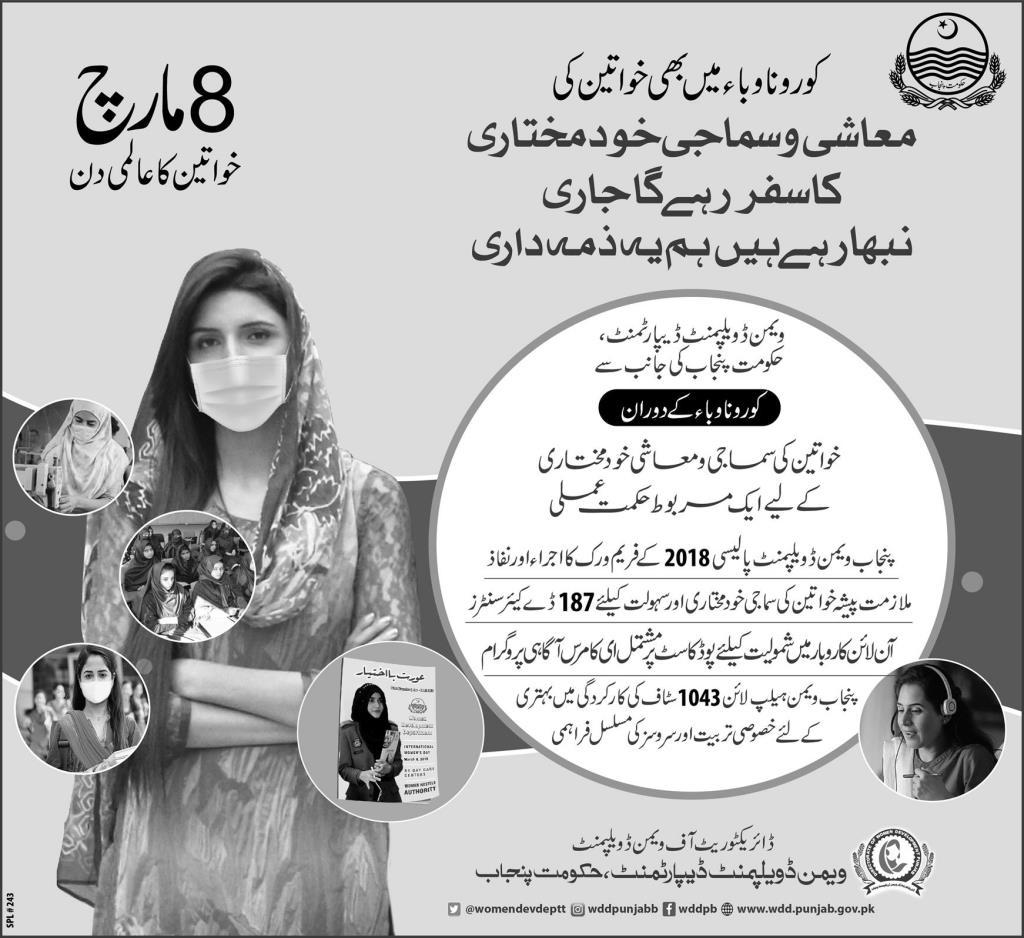 Happy Women Day 8th March 2021