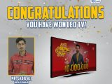 LU Biscuits Lucky Draw LED TV Winner Name List