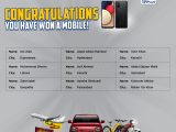 LU Biscuits Lucky Draw Mobil Phones Winner Name List