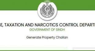 Sindh Excise Department Taxpayers Download Property Tax