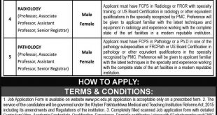 PESHAWAR INSTITUTE OF CARDIOLOGY(PIC ) MTI JOBS 19TH SEPTEMBER 2021