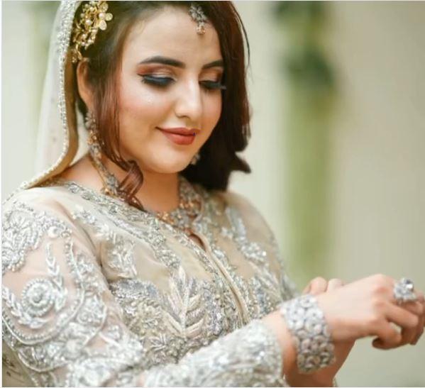 Pakistani talk star Hareem Shah Marriage Pictures