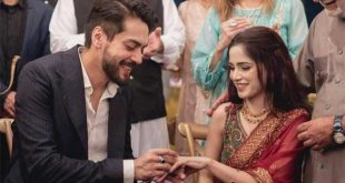 Singer Aima Baig and Shahbaz Shugri Engagement Pictures