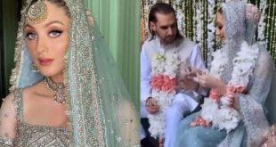 Shahbaz Taseer & Neha Rajput Marriage Pictures
